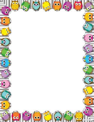(Carson Dellosa Colorful Owls Computer Paper (118117))