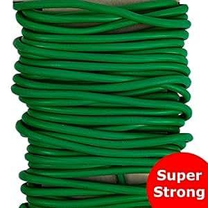 Planta de jardín suave Twist Tie 5.5metros–resistente a la intemperie/Resistente a las heladas/reutilizable/lavable