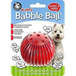 Pet Qwerks Blinky Babble Ball