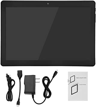 GPS Function 16GB ROM 3G Bluetooth WiFi Tablet with Dual Camera Black Android Tablet PC Phone Call ASHATA 10 inch Tablet Android Octa Core Tablet with 1GB RAM