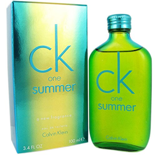 C'K' One Summer 2014 Edition Eau De Toilette Spray for Unisex, EDT 3.4 OZ, 100 ML