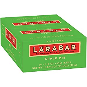 LaraBar Apple Pie, 1.6 Ounce , 16 Count
