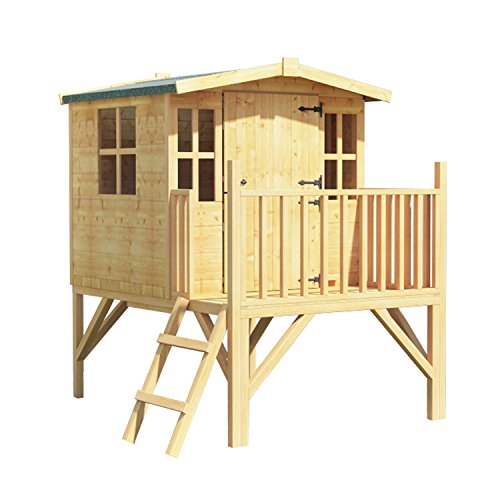 BillyOh Bunny Tower Childrens Wooden Playhouse 4x4