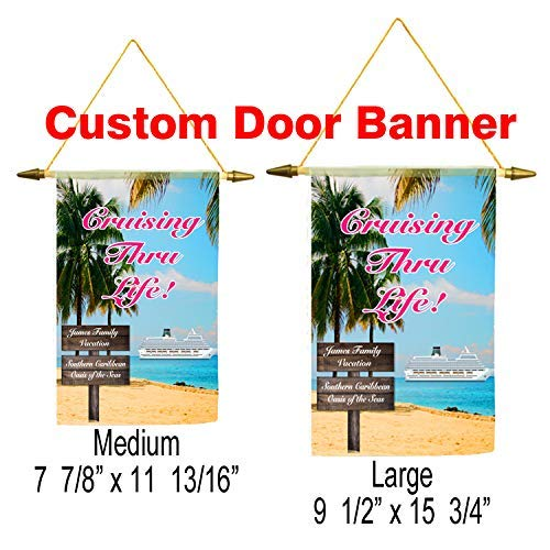 Cruise ship door banner. Customization available for a unique banner! ()
