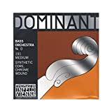 Thomastik-Infeld 191 Dominant Double Bass String, Single D String, Chromesteel Wound, Medium Tension, 3/4 Size, Orchestral Tuning