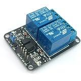 SainSmart - Modulo relè 5 V, 2 canali per Arduino UNO, Mega R3, Mega 2560, Duemilanove, Nano, Robot