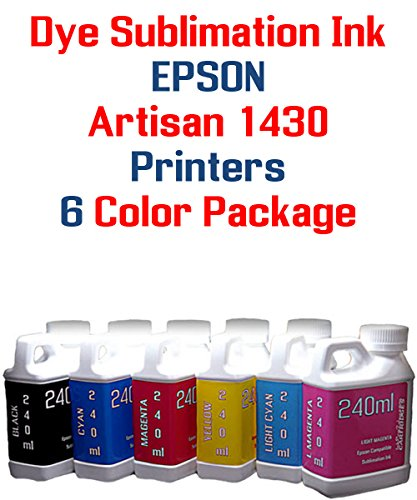 6 multi-color bottles Dye Sublimation Ink 240ml each for sale  Delivered anywhere in Canada