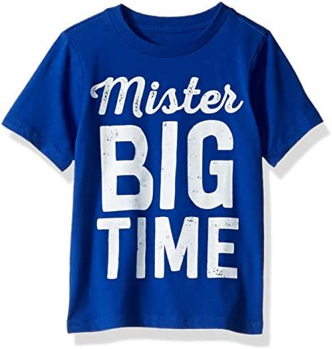 The Children's Place Baby Boys' Fun Message Graphic Tee