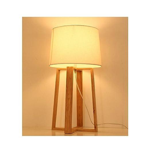 Tik Lámparas de Mesa LED para Dormitorio - Lámpara de Mesa con ...