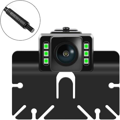 Car Backup Camera, Rear View Camera Ultra HD 6 LED Night Vision, Waterproof Reverse Camera 140 Wide View Angel Cameras for 12V Cars