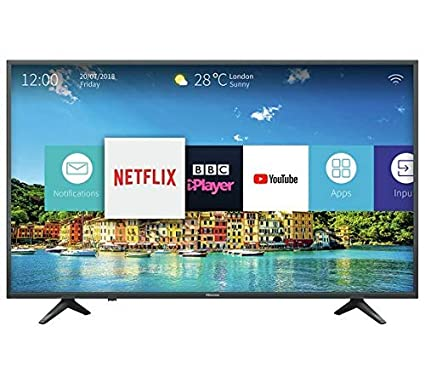 00677691a3311 Hisense 43 Inch H43A6250 Smart 4K UHD LED TV with HDR  Amazon.co.uk   Electronics