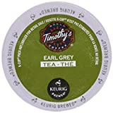 Timothy's World Tea, Earl Grey Tea, 24-Count K-Cups For Keurig Brewers (Pack of 2)