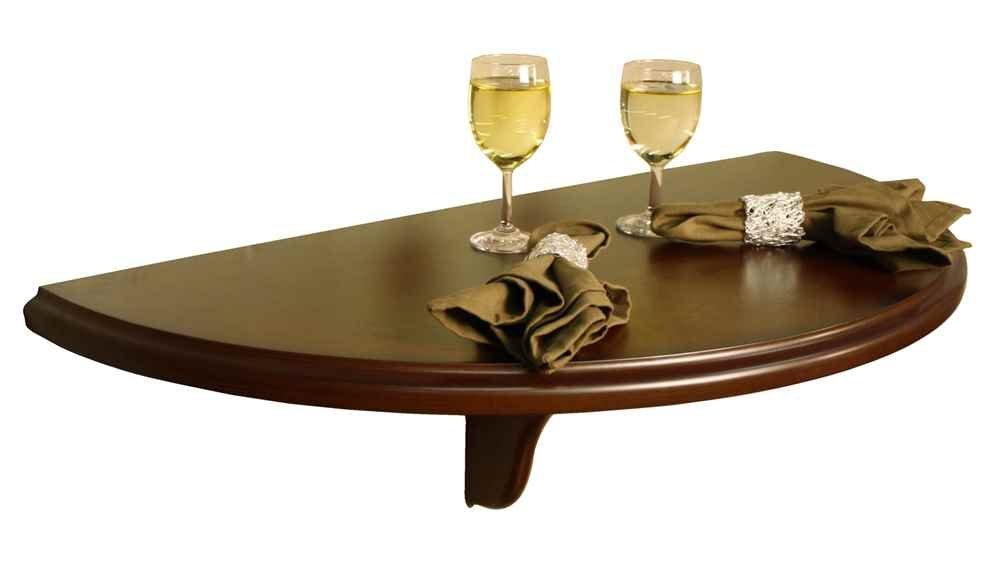 Amazon.com: American Heritage Chicago Wall Table Shelf In Sierra Finish  387205: Home U0026 Kitchen