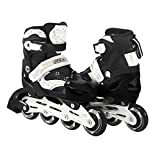 Kids Adjustable Inline Skates Outdoor Durable Perfect First Skates For Girls and Boys Illuminating Front Wheels