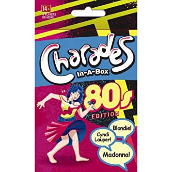 Amazon Com Outset Media Charades In A Box 80s Game Baby Toys