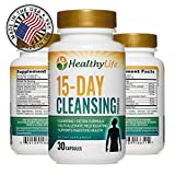 Colon Cleanse Detox Formula by HealthyLife | Helps Lose Weight | AIDS Weight Loss | 30 Capsules 15 Day Cleansing Program