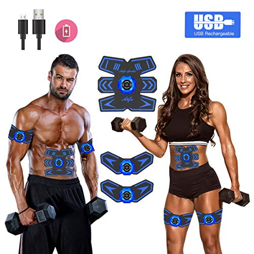Abs Stimulator Ab Stimulator Muscle Toner Rechargeable for sale  Delivered anywhere in USA