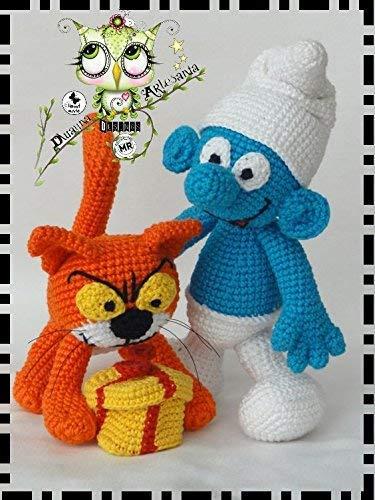 ASRAEL O PITUFO SORPRESA AMIGURUMI PERSONALIZABLE ( Bebé, crochet, ganchillo, muñeco, peluche, niño, niña, lana )