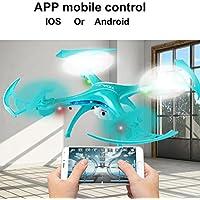 Quartly 2.4Ghz Quadcopter Camera WIFI FPV Headless Mode Altitude Hold RC UFO Drone (B)