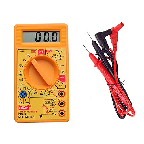 D830D Digital Multimeter LCD AC DC Measuring Voltage Current (not for professional use) Colour may vary Price & Reviews