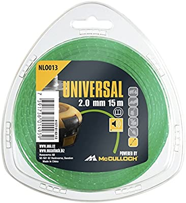Stimmer Line Trimmer Wire 2.4mm x 15m Ideal for all standard strimmer heads P