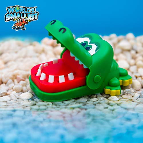 Worlds Smallest Crocodile Dentist Game - http://coolthings.us