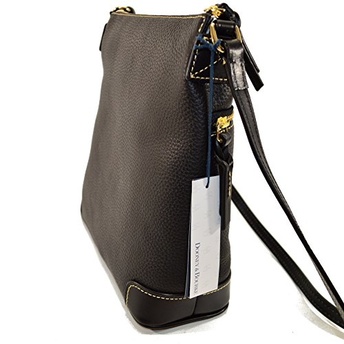 Crossbody Dooney Pebble Bourke Blk Blk amp; Leather TWR8WnCU