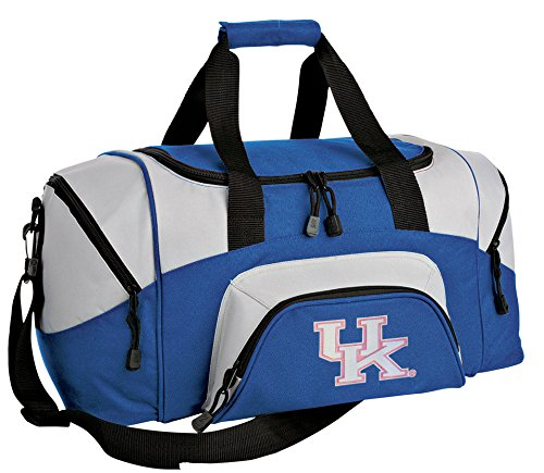 SMALL Womens University of Kentucky Travel Bag UK Wildcats Gym Workout Bag by Broad Bay