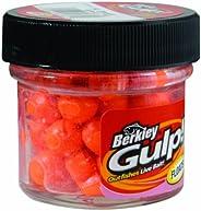 Berkley GPFE-FO Gulp Floating Salmon Eggs, Fluorescent Orange, 0.56-Ounce