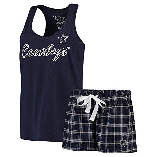 Dallas Cowboys Women's Navy Bell Boxer Set XX-Large (Dallas Cowboys Shorts)