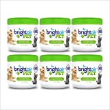 Bright Air Solid Pet Odor Eliminator, Cool Citrus Scent, 14 Ounces, 6 Pack