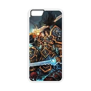 iPhone 6 Plus 5.5 Inch Phone Case Cover White Varian Wrynn 08 EUA15983933 Phone Screen Covers