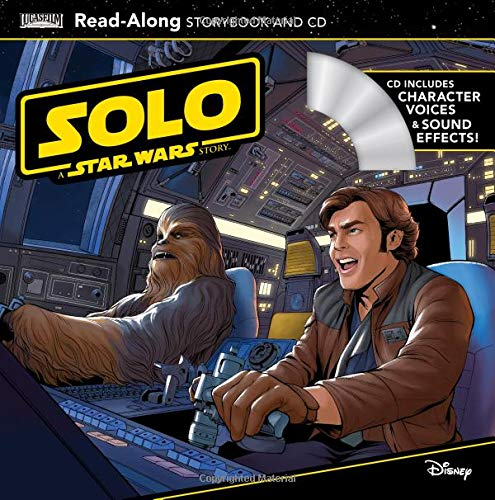 Solo: A Star Wars Story Read-Along Storybook and -