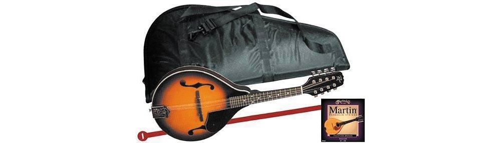 Rogue Mandolin Starter Kit Regular Sunburst by Rogue (Image #1)