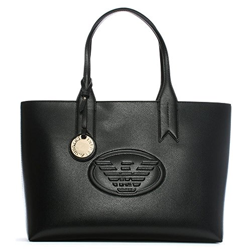 Emporio Armani Logo Shopping Womens Handbag - Bag Shopping Armani
