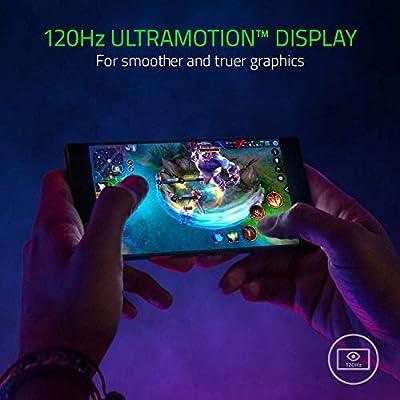 Razer Phone - 120 Hz Ultra Motion Display - 64GB Memory - 8GB RAM - Dual  Camera - Dual Front-Facing Speakers - Gaming Phone - Black