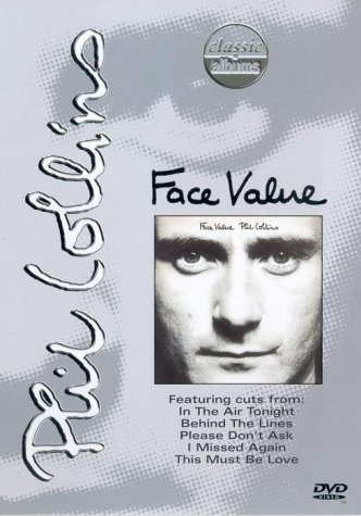 Phil Collins - Face Value [DVD] by Tony Banks B01I05PKKG