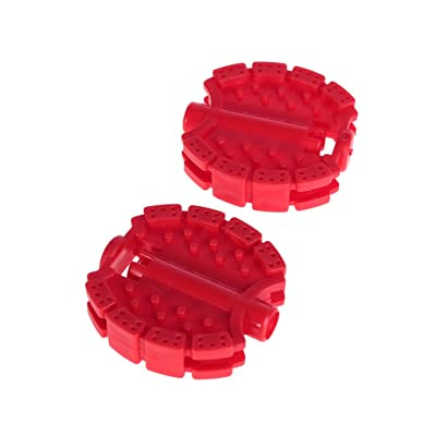 Seaskyer 1 Pair Bicycle Pedal Children Bike Tricycle Replacement Cycling Tools Non Slip 70x61mm (Red) : Sports & Outdoors