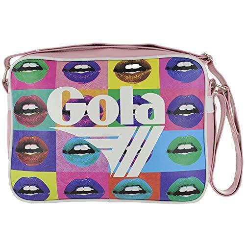 BORSA TRACOLLA GOLA midi REDFORD POP LIPS CUB911MR BLACK/WHITE/MULTI cod. 16714 Light Pink/White/Multi