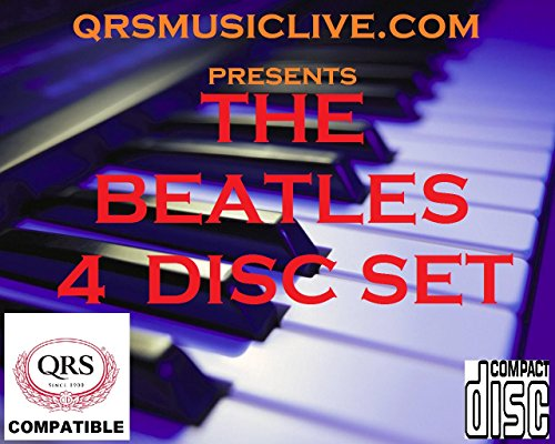 THE BEATLES (4 DISC SET) - QRS PIANOMATION Compatible Player Piano CD