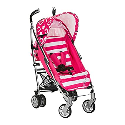 ICoo - Silla de paseo icoo pluto rayas rosa