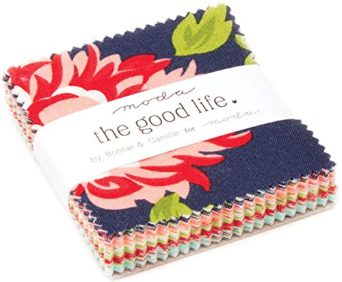 The Good Life Mini Charm Pack By Bonnie & Camille; 42 - 2.5