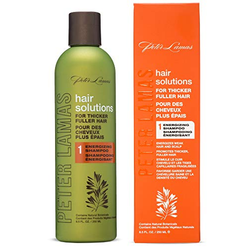 Peter Lamas Hair Solutions Rejuvenation and Energizing Shampoo with Biotin | Hair Regrowth for Men and Women | Vegan Paraben Free | Thicker Healthier Hair Therapy ()