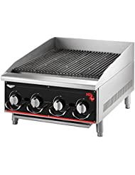 Vollrath 960CG 60 Heavy Duty Radiant Lava Charbroiler Cayenne Series
