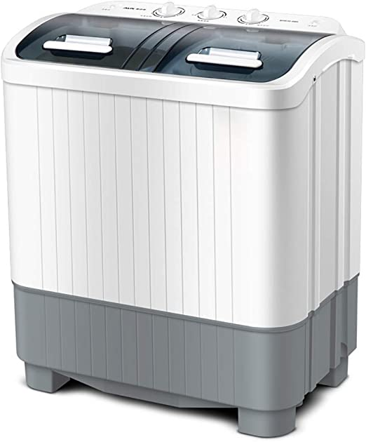 Washing Machine With Spin Dryer Capacity 110V 300 Watts Mini For Apartment