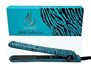Bebella Luxury Wild Collection Professional 1.25u0026quot; Pure Onyx Ceramic Plates Hair Straightener Flat Iron  sc 1 st  Amazon.com & Amazon.com : Bebella Luxury Wild Collection: Professional 1.25