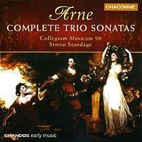 Thomas Arne: Sämtliche Triosonaten 1-7