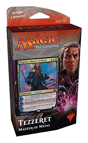 Magic the Gathering: Aether Revolt Planeswalker Deck – Tezzeret, Master of Metal (Includes 2 Booster Packs)