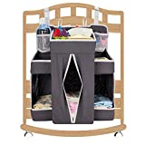 Cribs with Changing Table and Storage Biubee Baby Large Diaper Nursery Organizer-17.3
