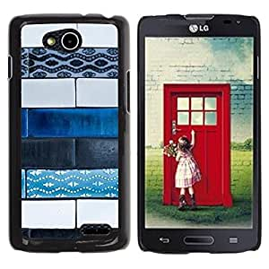 Be Good Phone Accessory // Dura Cáscara cubierta Protectora Caso Carcasa Funda de Protección para LG OPTIMUS L90 / D415 // Art Paint Street Hand Made